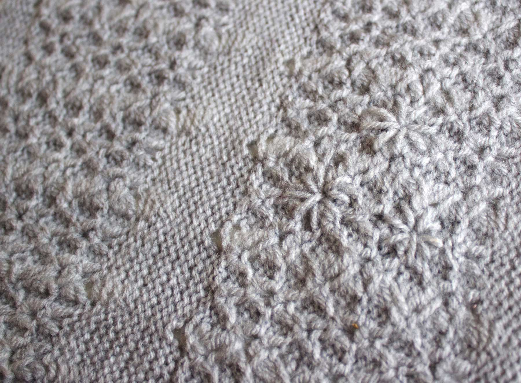 small tuck stitch