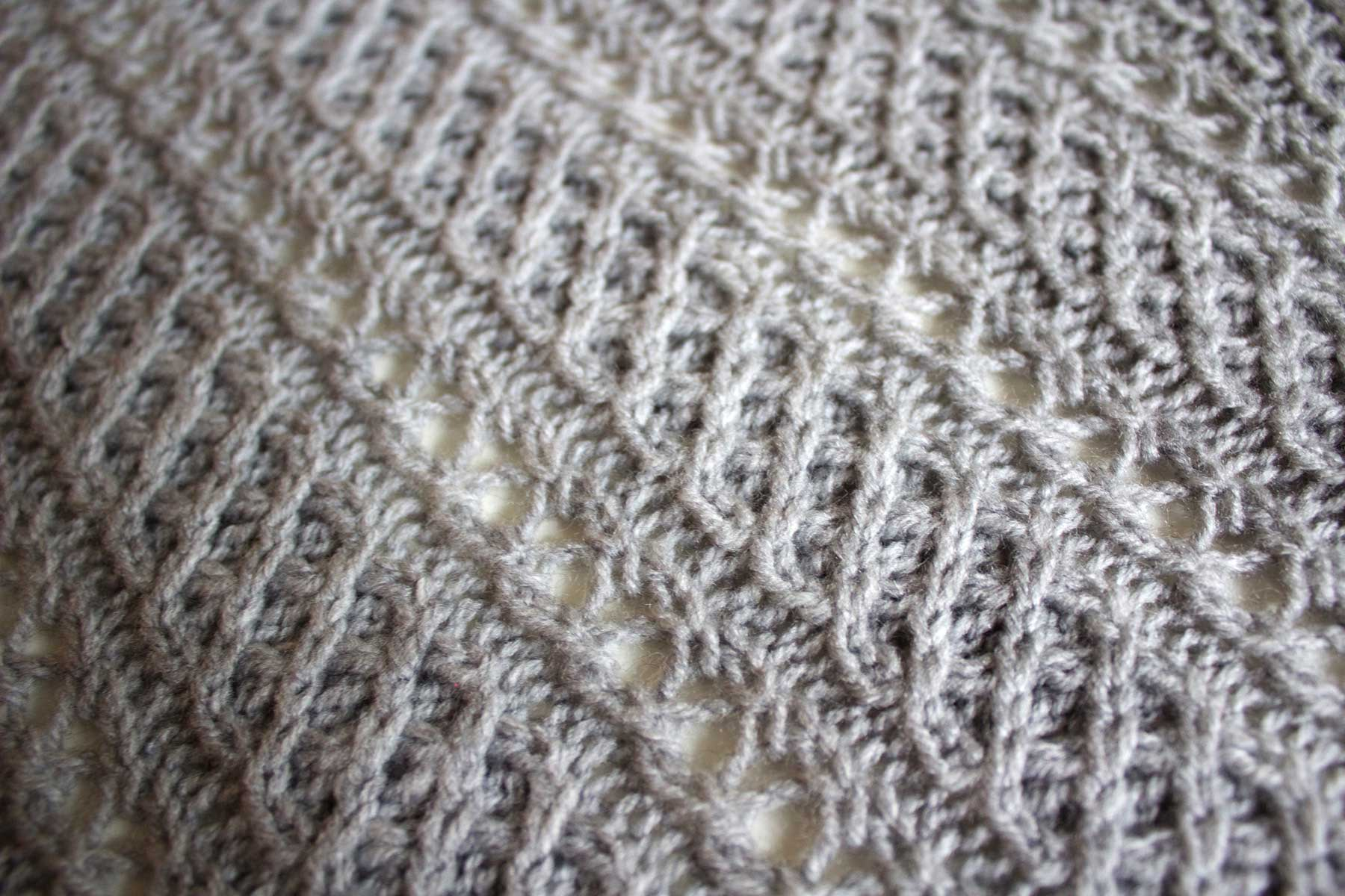 open cable stitch