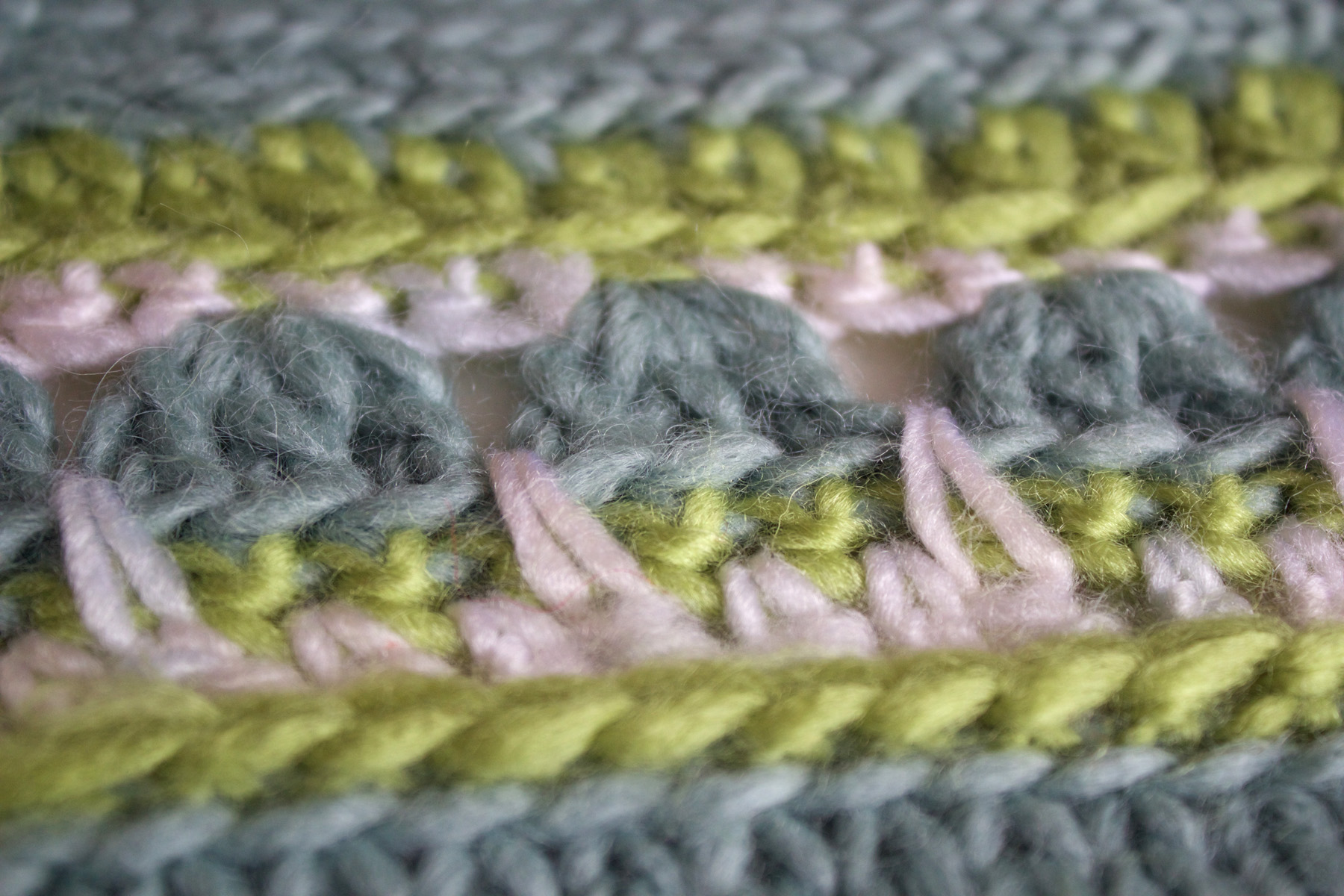 close up crochet