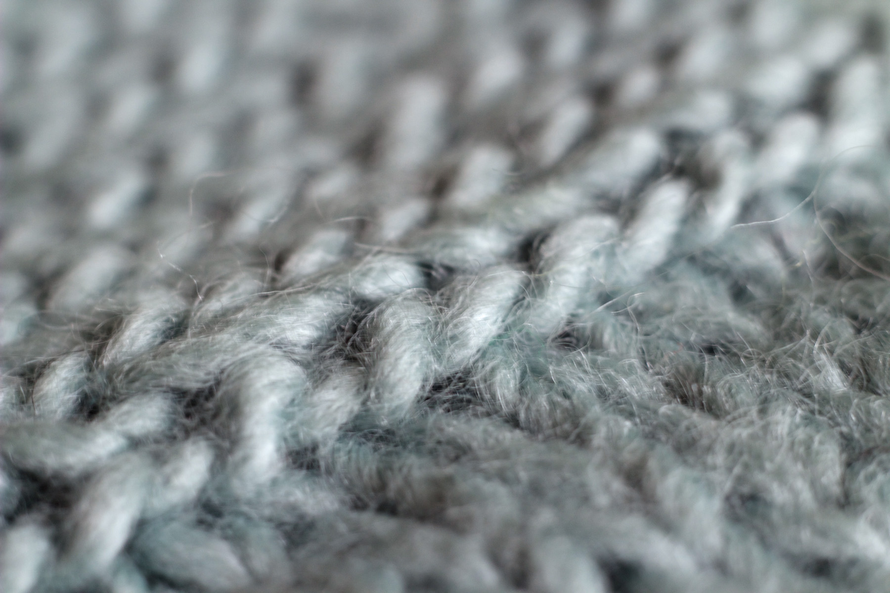 combined knitted swatches
