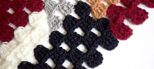 brown-crochet Rosetta Getty